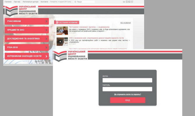 Увага! Відкрито веб-сервіс Українського центру оцінювання якості освіти «Кабінет керівника закладу освіти»